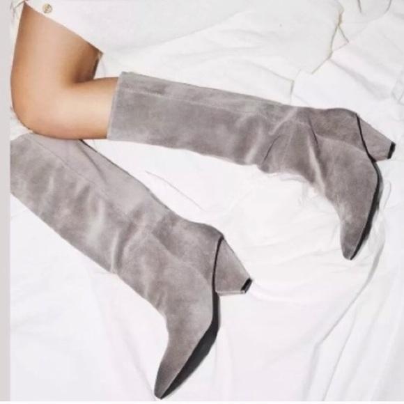 d7509d76b22d Jeffrey Campbell Shoes - NWOT Slouchy knee high Senita boot